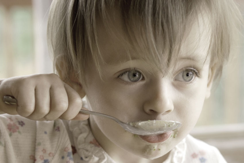 Il cibo tra bambini e genitori