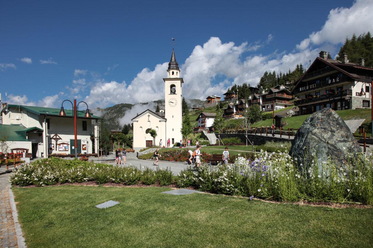 Gita a chamois valle d'aosta il campanile