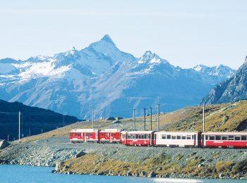 Bernina Express – Tirano – Saint Moritz (Svizzera)