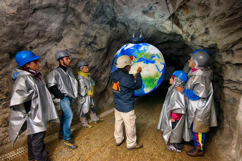 Geologia nelle Miniere di Prali