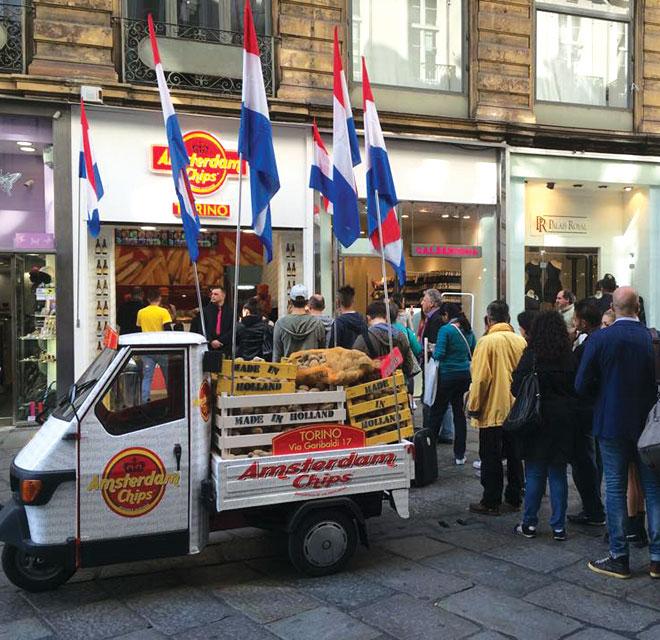 Amsterdam Chips – Torino