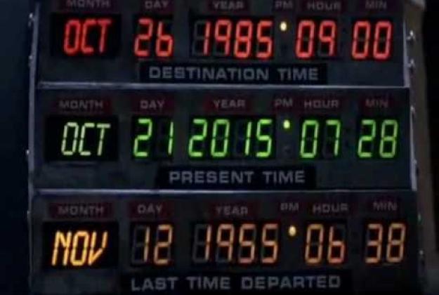 Bentornati nel futuro Doc e Marty!