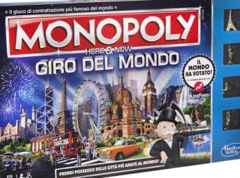 Monopoly Giro del Mondo, finalmente è arrivato!