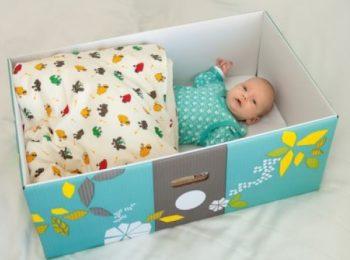 Dalla Finlandia al resto del mondo, è baby box mania!