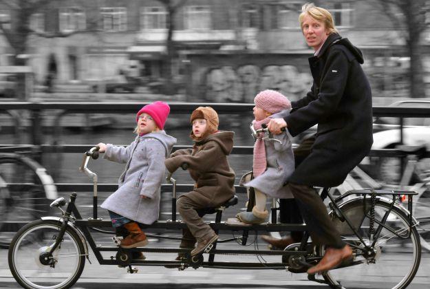 In bicicletta a Milano
