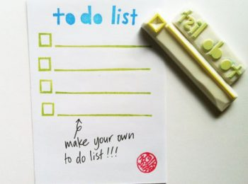 Organizzarsi con la to do list