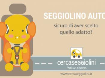Cercaseggiolini.it, il portale dedicato ai seggiolini auto