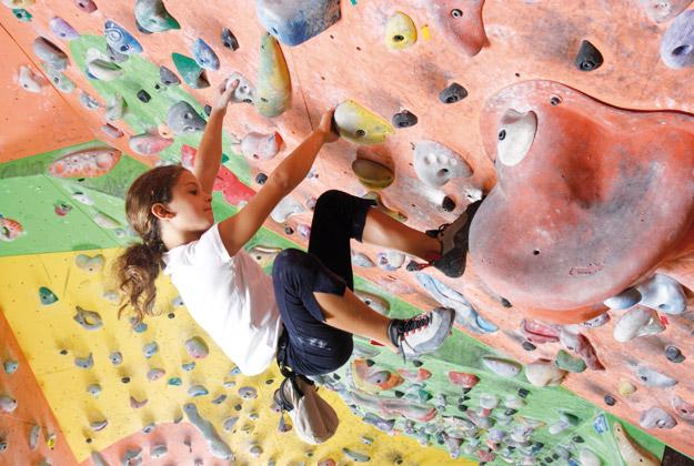 Gioco-arrampicata: la libertà è verticale
