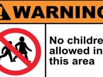"""A Roma nel ristorante dove è """"vietato l'ingresso ai bambini"""""""