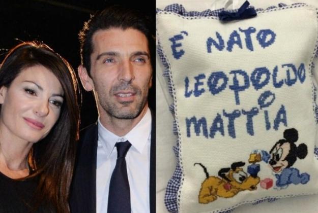 E' nato il bambino di Gigi Buffon e Ilaria D'Amico
