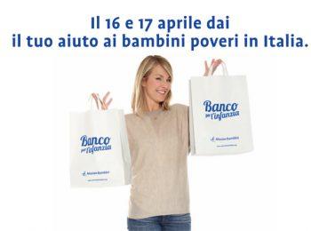 Donare prodotti di prima necessità: arriva il Banco per l'Infanzia