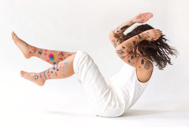 Rock the tattoo