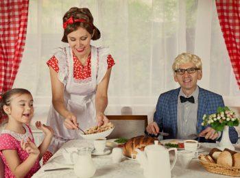 Parità in casa: occuparsi dei figli è un lavoro a tempo pieno