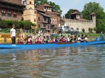 A Torino in canoa e kayak sulle rive del Po