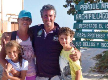 Una famiglia in Venezuela e Argentina: viva la buena vida