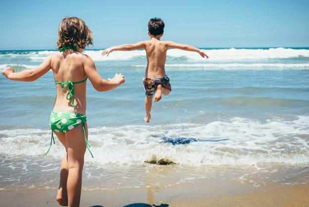 Il mare con i bambini e i consigli (sbagliati) della nonna