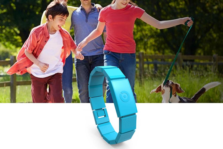 Amyko: la sicurezza del tuo bimbo sta in un braccialetto