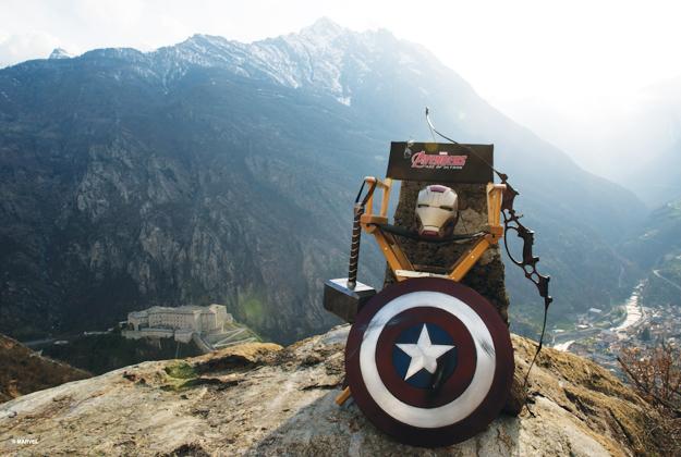 Mostra su Avengers e Arte alle Corti