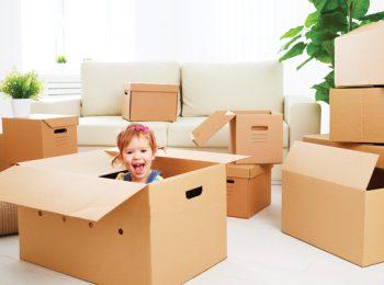 Traslocare con un bebè al seguito: una vera sfida!