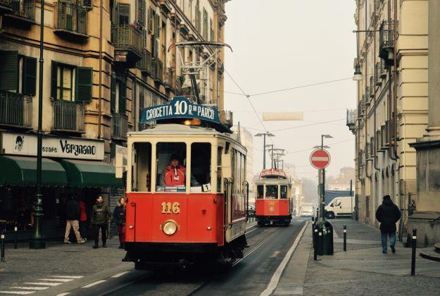 A Torino viaggio sul tram storico