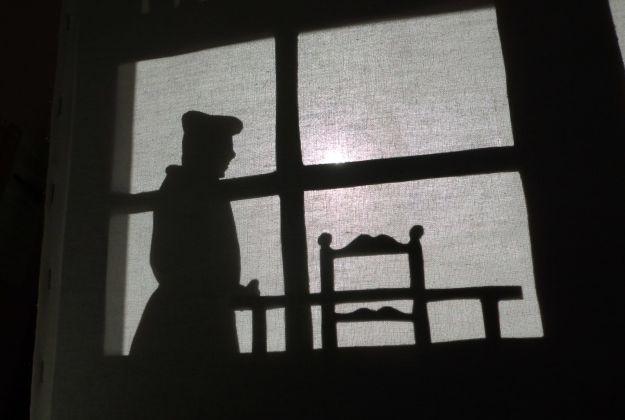 GG teatro delle ombre al museo