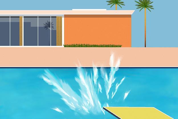 … Splash!