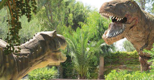 parchi dinosauri