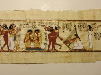 Disegniamo all'egizia