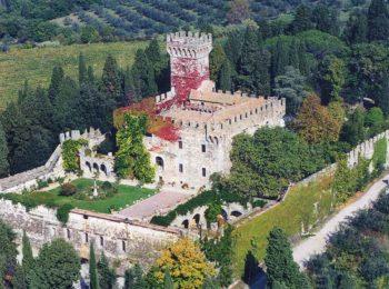 Visita ai giardini del Castello di Vincigliata