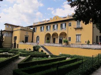 Visita ai giardini di Villa Schifanoia