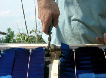 Autocostruzione di pannelli solari