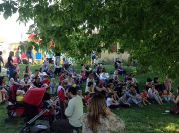 Shakespeare stories in the park