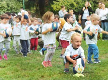 Festa del Rugby per bimbi