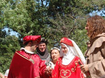 Rosania e Pietrone ieri sposi