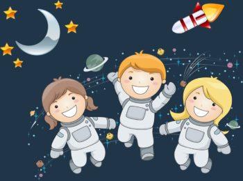 Space Kids. Pronti a diventare esploratori per un giorno?