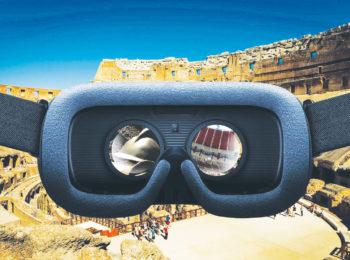 Il tour del Colosseo per bambini, con visore e realtà virtuale