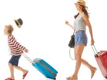 Bagagli compatti in viaggio con i bambini