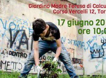 A Torino un'azione comunitaria di pulizia dei giardini
