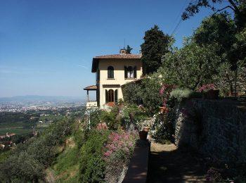 Visita ai giardini di Villa Il Roseto