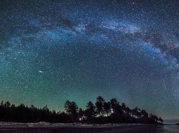 La Via Lattea invernale