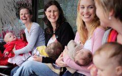 GG gruppo mamma bambino in casa maternita