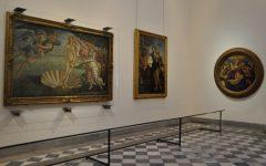 GG i quadri degli uffizi