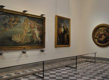 I quadri degli Uffizi…