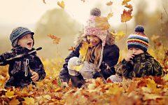 GG le stagioni giochiamo con le foglie