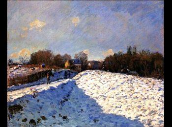 L'inverno dei pittori: Sisley