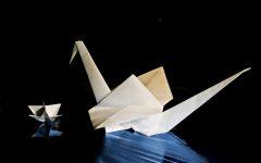 GG origami di natale