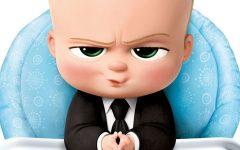 GG piuma baby boss