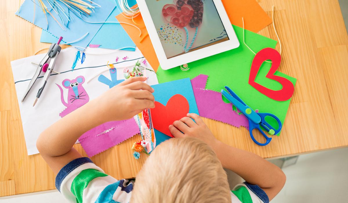 Idee smart per conservare i lavoretti dei bambini