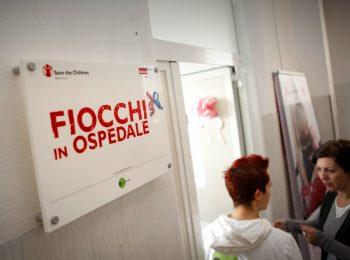 Fiocchi in Ospedale con Save the Children