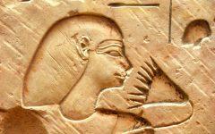GG affabulando al museo egizio firenze